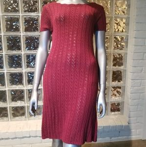 NWT Moda Intl crochet dress